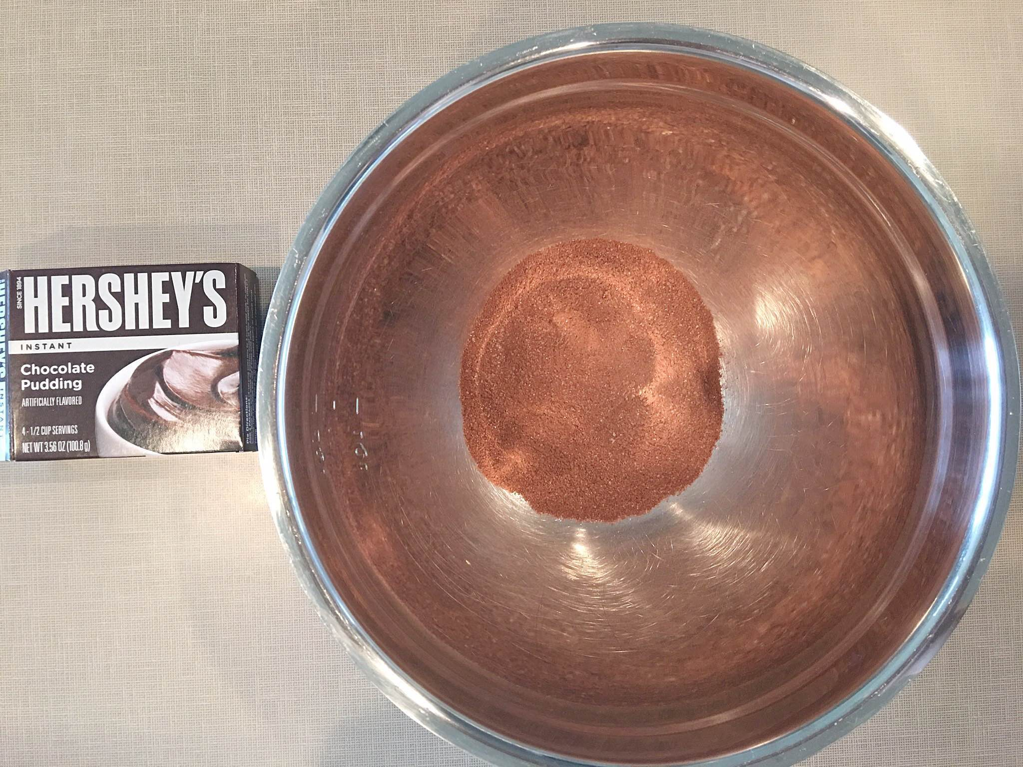 Quick & Delicious Triple Chocolate Brownie Recipe, Hershey's Instant Chocolate Pudding